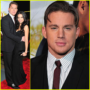 Channing Tatum: 'Dear John' Premiere with Jenna!