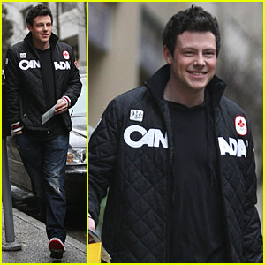 Cory Monteith: Canada Pride!