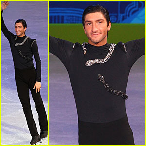 Evan Lysacek Wins Figure Skating Gold... In Vera Wang