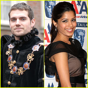 Freida Pinto: 'War of the Gods' with Henry Cavill!