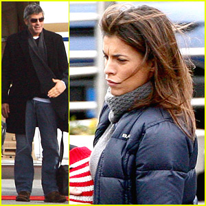 George Clooney & Elisabetta Canalis Settle In Switzerland