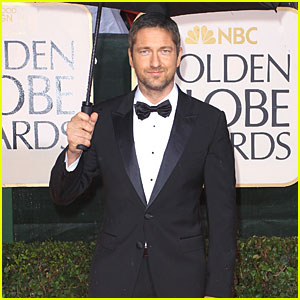 Gerard Butler's Golden Globes Tuxedo: Up For Auction!