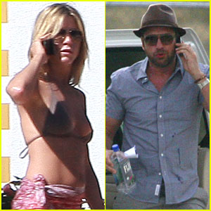 Jennifer Aniston & Gerard Butler: Adios, Cabo!