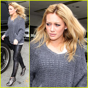 Hilary Duff: Mike Comrie Drop-off!