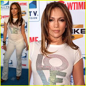 Jennifer Lopez: DirecTV Celebrity Beach Bowl