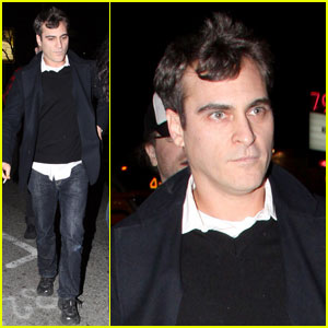 Joaquin Phoenix is Voyeur Nightclub Neat