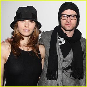 Justin Timberlake Rocks Hudson Terrace with Jessica Biel