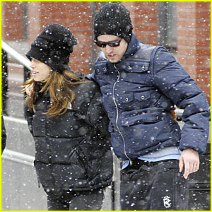 Justin Timberlake & Jessica Biel: Snow in the City!
