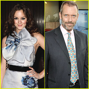 Leighton Meester & Hugh Laurie Pick 'Oranges'
