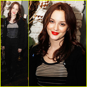Leighton Meester's H&M Knitwear Night