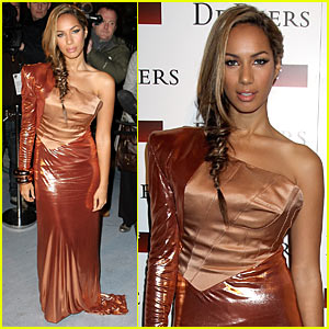 Leona Lewis: Fire Alarms at Love Ball!