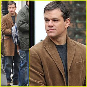 Matt Damon Gets to Work on 'Hereafter'
