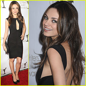 Mila Kunis is Writers Guild Gorgeous