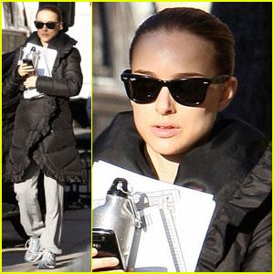 Natalie Portman is Black Swan Serious