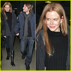 Nicole Kidman & Keith Urban Fancy Figure Skating