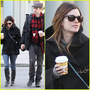 Rachel Bilson & Hayden Christensen: Coffee and Crepes!