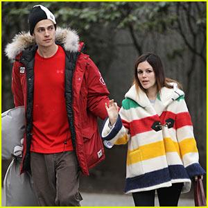 Rachel Bilson & Hayden Christensen: Olympics Store!