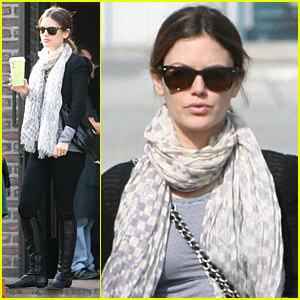 Rachel Bilson Meets With Her Mom