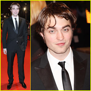 Robert Pattinson's BAFTA Hairdo -- Or Don't?