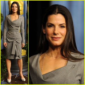 Sandra Bullock: Oscar Luncheon Lovely