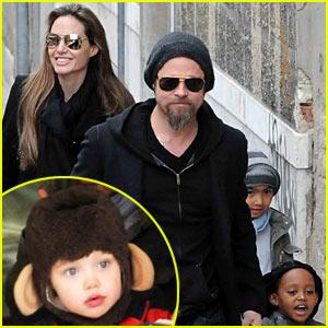 Shiloh Jolie-Pitt: Monkey Ears!