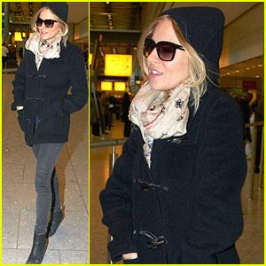 Sienna Miller: From Tokyo to Heathrow