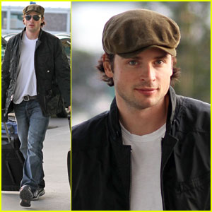 Tom Welling: Up, Up and Away!