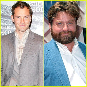 Jude Law & Zach Galifianakis Set To Host 'Saturday Night Live'