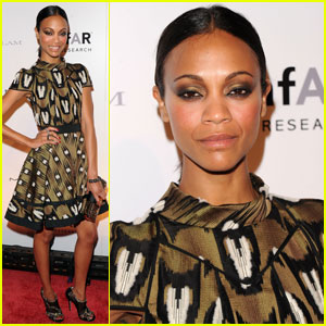 Zoe Saldana: Fashion Week Kick Off