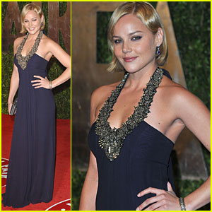 Abbie Cornish Single Sexy At Vanity Fair After Party 2010