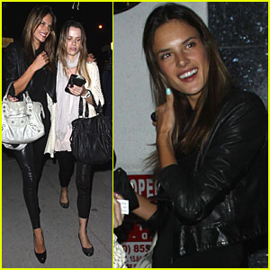 Alessandra Ambrosio is West Hollywood Hot