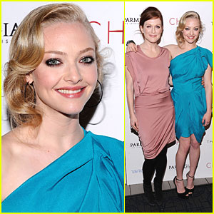 Amanda Seyfried: 'Chloe' Premiere with Julianne Moore!