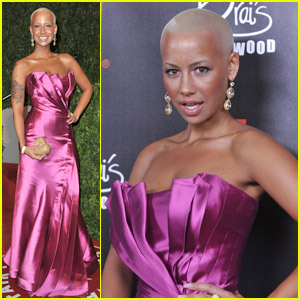 Amber Rose: Oscars Fuchsia Fierce