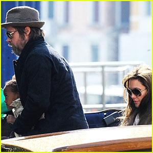 Angelina Jolie & Brad Pitt: Family Fun Day!