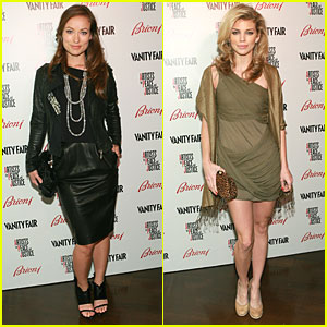 Olivia Wilde & AnnaLynne McCord Pair Up for Peace and Justice