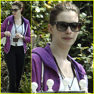 Anne Hathaway is Yearning for Yoga