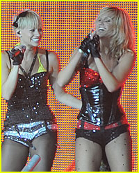Ashley Roberts & Kimberley Wyatt Leave The Pussycat Dolls