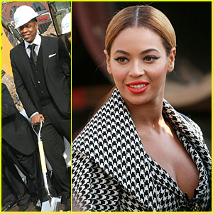 Beyonce & Jay-Z Break Ground in Brooklyn