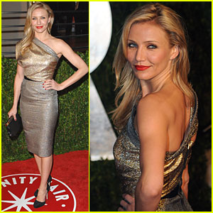 Cameron Diaz is After Party Perfection