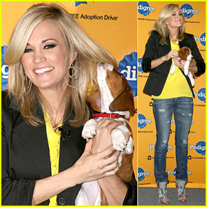 Carrie Underwood: Adopt A Pet through Pedigree!