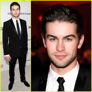 Chace Crawford: AIDS Foundation Party Patron