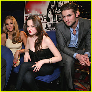 Chace Crawford: ShoWest With 'Twelve' Lovely Ladies