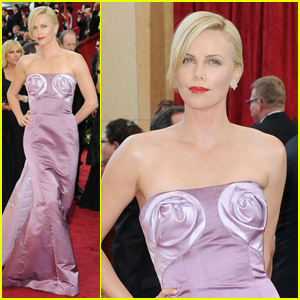 Charlize Theron -- Oscars 2010 Red Carpet