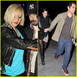 Christina Aguilera & Jessica Alba: Jay-Z Concert!