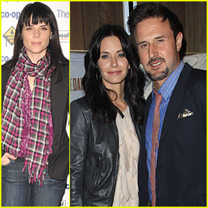 Courteney Cox, David Arquette & Neve Campbell: Back for 'Scream 4'!