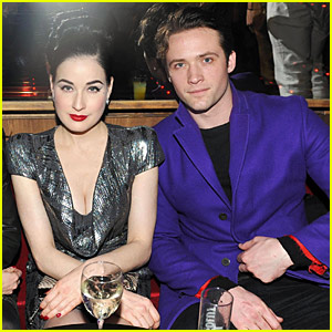 Dita Von Teese & Louis-Marie: Paris Fashion Week Pair