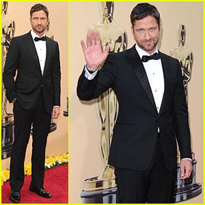 Gerard Butler -- Oscars 2010 Red Carpet