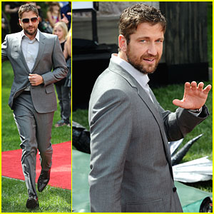 Gerard Butler Premieres 'How to Train Your Dragon'