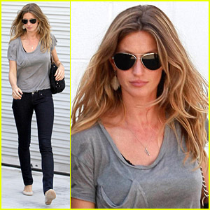 Gisele Bundchen Cares For Benjamin Brady
