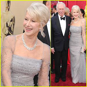 Helen Mirren -- Oscars 2010 Red Carpet